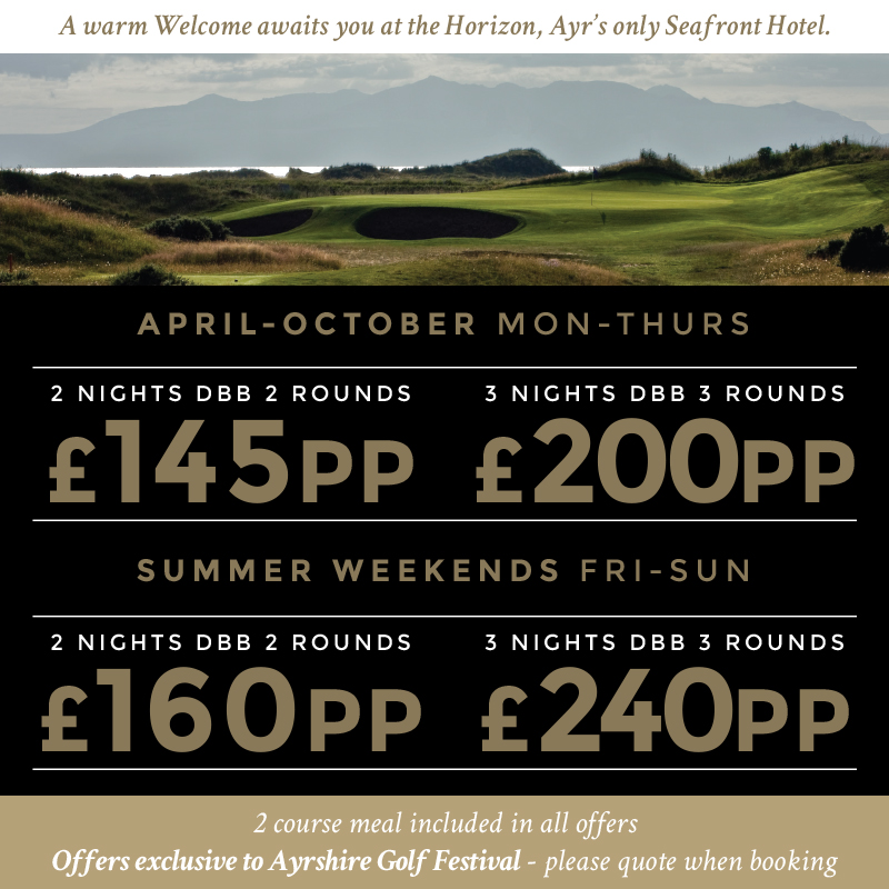 Horizon Hotel Golf South Ayrshire Packages